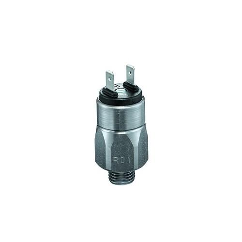 Pressostat à contact NO ou NF, tarage jusque 150 bar, 42 V maxi, G1/4 mâle avec mesures