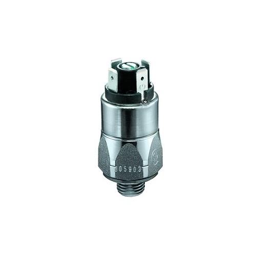 Pressostat à contact inverseur, tarage jusque 200 bar, 250 V maxi, G1/4 mâle