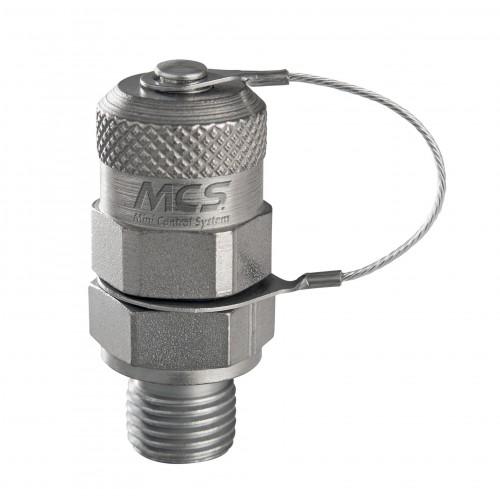 Miniprise de pression à clapet, 630 bar maxi, selon ISO 15171-2 (08/2000)