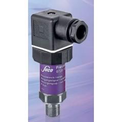 Transmetteur de pression 0...10 V (3 fils), mesure jusque 600 bar, G1/4 mâle DIN 3852-A, acier inox, vue de côté