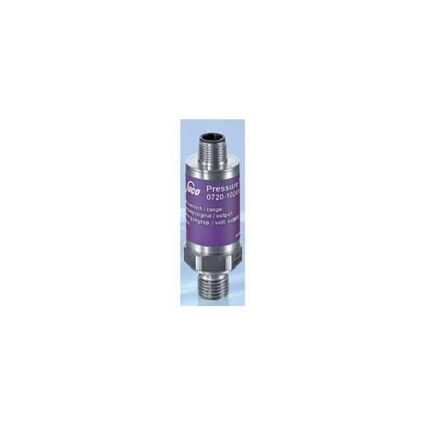 Transmetteur de pression 4...20 mA (2 fils), mesure jusque 600 bar, G1/4 mâle DIN 3852-A, acier inox, vue de face
