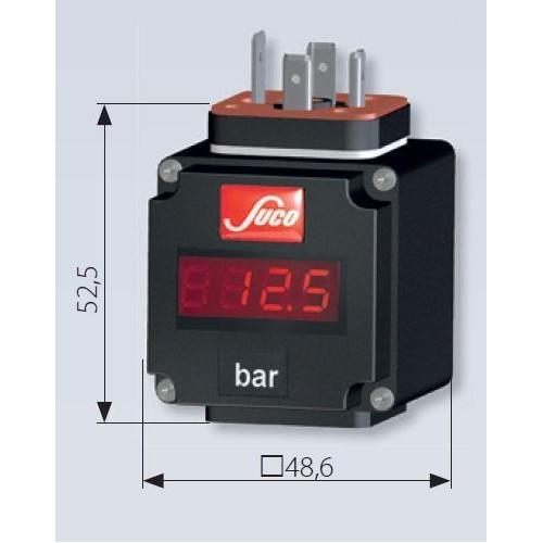 Afficheur STD pour transmetteur 4...20 mA avec connecteur EN 175301-803-A (DIN 43650)
