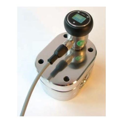 Câble pour débitmètre EF avec afficheur LCD, connecteur M12x1, 4 pôles + blindage, 5 m