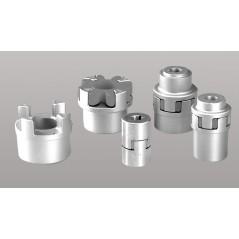 Moyeu A pour accouplements élastiques Softex®, taille 38/45, alésage cylindrique