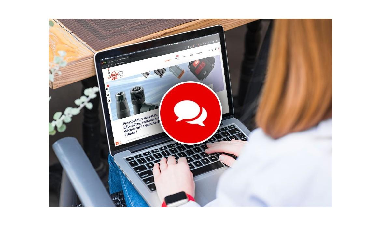 Nouveau : discutez en ligne avec nous